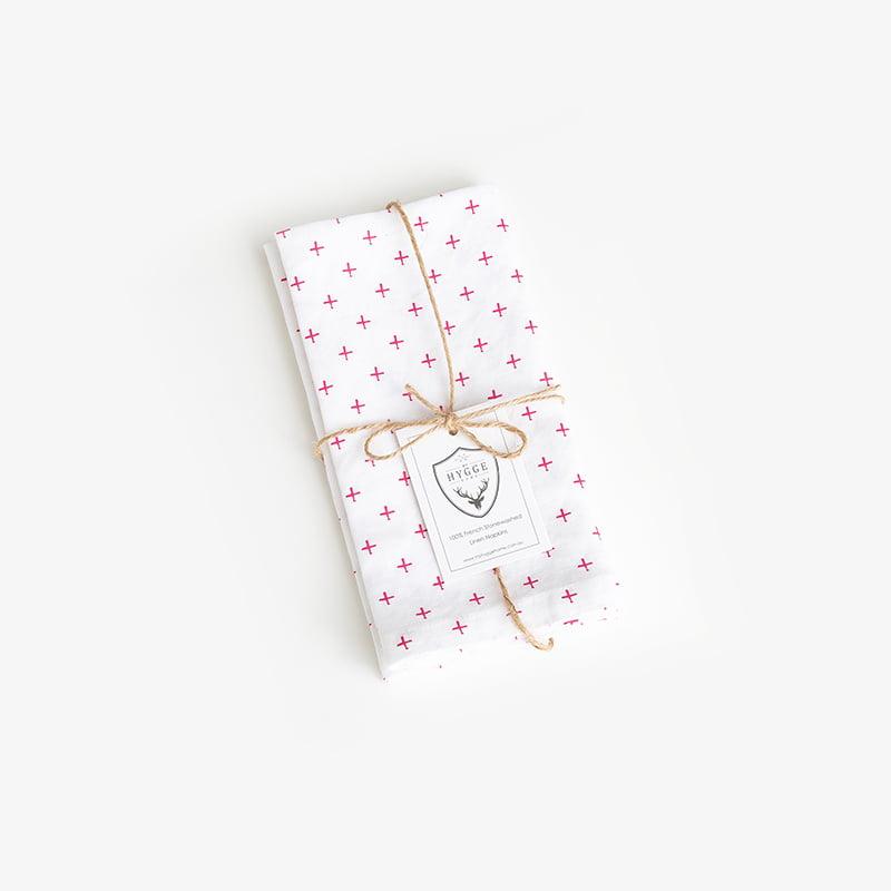 French linen stonewashed napkins