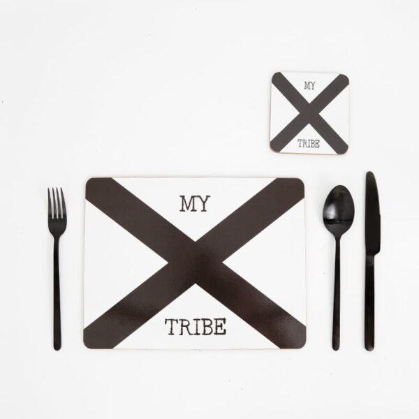 cork backed placemats coaster sets united tribe web