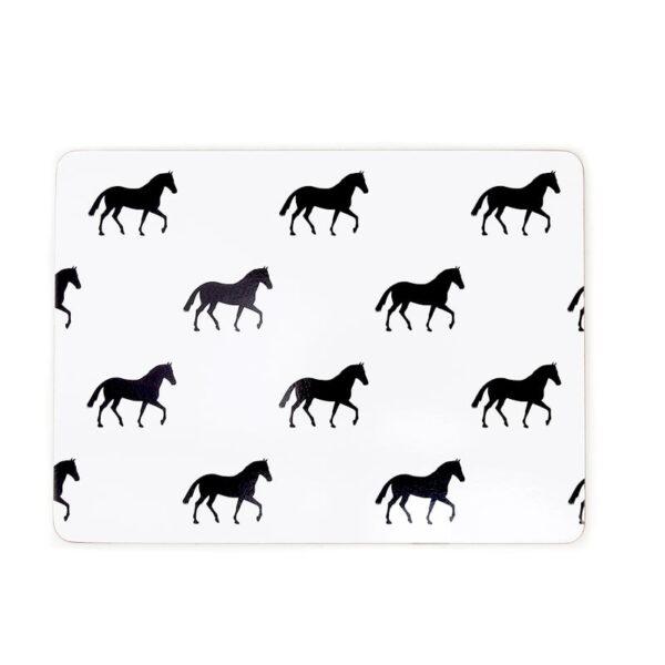 Horse hero cork placemat 2