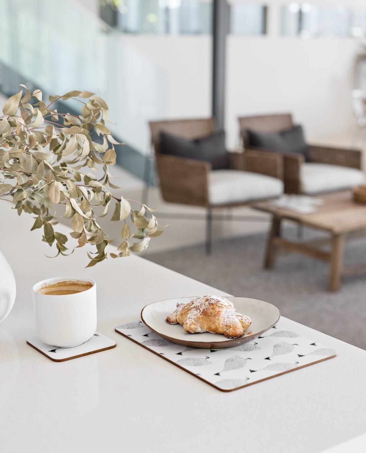 Guinea Fowl Cork Backed Coasters   Set of 4 - My Hygge Home