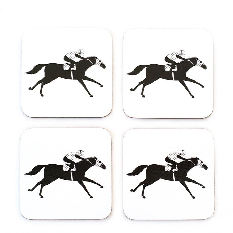 Racehorse coasters web