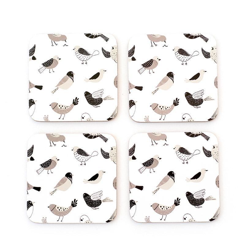 bird banter coasters