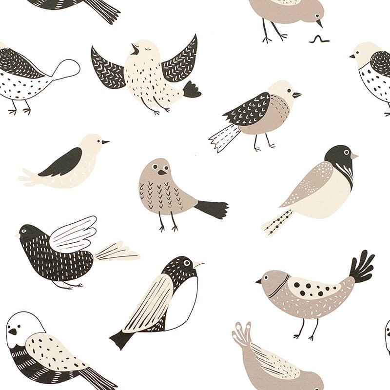 bird banter coasters placemat pattern web