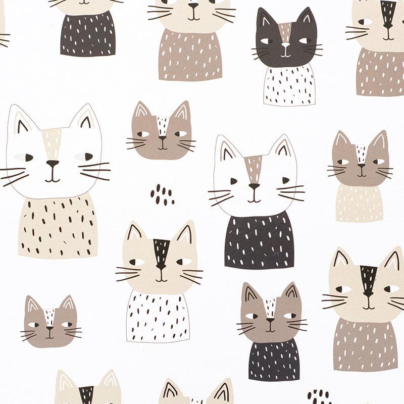 cat caper placemat coaster pattern web