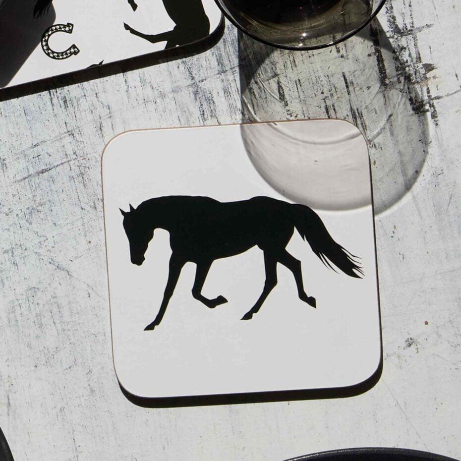 horse Cork Backed coasters
