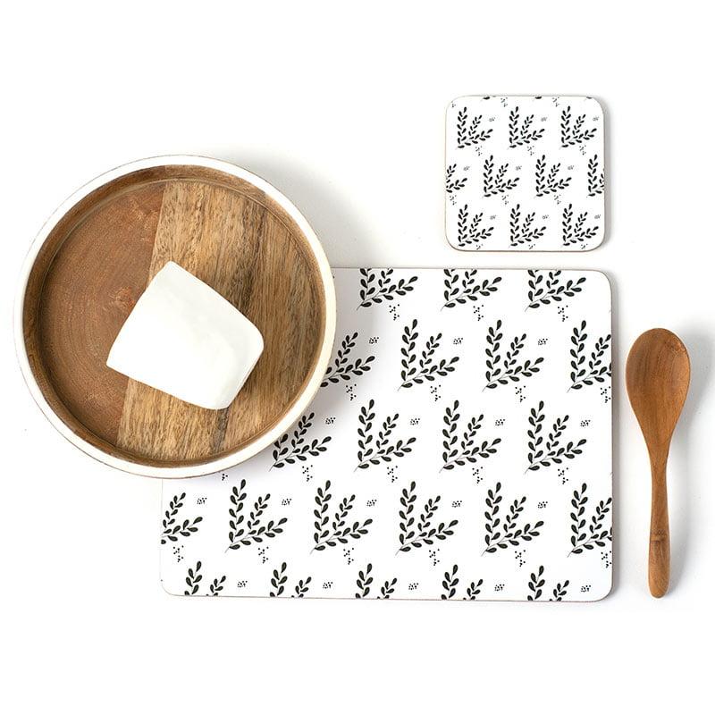 Organic Leaf Coasters